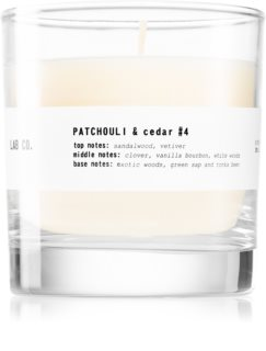 Ambientair Lab Co. Patchouli & Cedar vonná svíčka