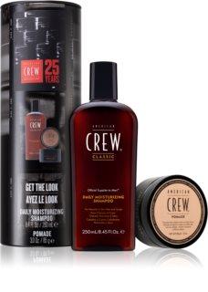 American Crew Hair & Body Daily Moisturizing Shampoo Kosmetik-Set  (für alle Haartypen) für Herren