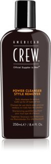 American Crew Hair & Body Power Cleanser Style Remover shampoing purifiant à usage quotidien