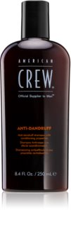 American Crew Hair & Body Anti-Dandruff Anti-Ross Shampoo  voor Regulatie van Talgproductie