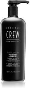 American Crew Shave&Beard Precision Shave Gel gel de afeitar para pieles sensibles