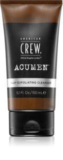 American Crew Acumen Peeling-Reinigungsemulsion für Herren