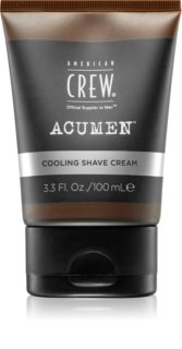 American Crew Acumen kühlende und feuchtigkeitsspendende Creme für die Rasur