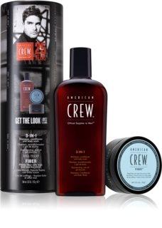 American Crew Hair & Body 3-IN-1 coffret cadeau (pour cheveux et corps) pour homme
