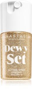 Anastasia Beverly Hills Dewy Set Setting Spray Mini Lysende dis til ansigt