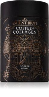 Ancient & Brave Coffee + Grass Fed Collagen prášek na přípravu nápoje s kolagenem