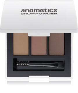 andmetics Brows Powder for Eyebrows