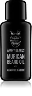 Angry Beards Murican feat. Kraig Casabier olej na vousy s vitamíny