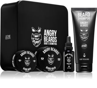 Angry Beards Saloon kozmetická sada na bradu