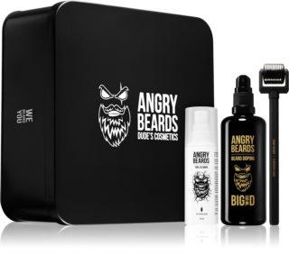 Angry Beards Dude's Cosmetics darčeková sada na bradu