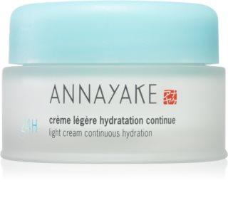 Annayake 24H Hydration Light Cream Continuous Hydration лек крем с хидратиращ ефект