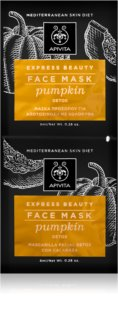 Apivita Express Beauty Pumpkin Detox-Gesichtsmaske