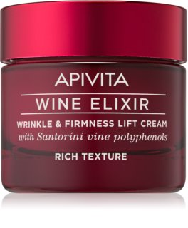 Apivita Wine Elixir Santorini Vine Rich Anti-Aging Cream with Firming Effect