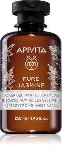 Apivita Pure Jasmine Kosteuttava Suihkugeeli