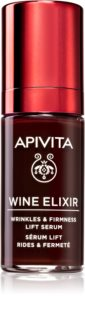 Apivita Wine Elixir Santorini Vine серум против бръчки с лифтинг ефект със стягащ ефект