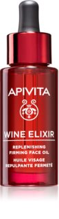 Apivita Wine Elixir Grape Seed Oil Anti-Falten-Gesichtsöl mit festigender Wirkung