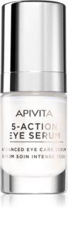 Apivita Intensive Care Eye Serum Anti-Faltenserum für den Augenbereich mit festigender Wirkung