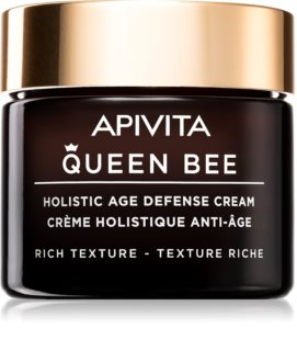 Apivita Queen Bee creme de dia protetor contra envelhecimento de pele com efeito reafirmante