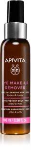 Apivita Cleansing Honey & Tilia средство для снятия макияжа глаз