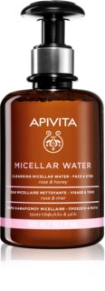 Apivita Cleansing Rose & Honey мицеларна вода за лице и очи