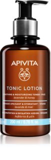 Apivita Tonic Lotion Soothing and Moisturizing Toner Soothing Facial Tonic with Moisturizing Effect