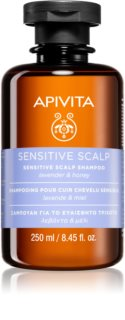 Apivita Holistic Hair Care Lavender & Honey shampoing pour cuir chevelu sensible et irrité à la lavande
