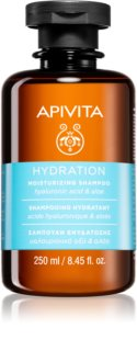 Apivita Holistic Hair Care Hyaluronic Acid & Aloe shampoing hydratant pour tous types de cheveux
