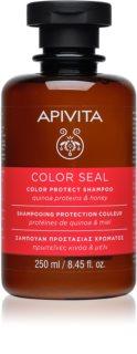 Apivita Holistic Hair Care Sunflower & Honey Shampoo zum Schutz gefärbter Haare