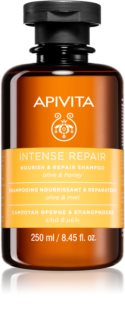 Apivita Holistic Hair Care Olive & Honey shampoing nourrissant intense