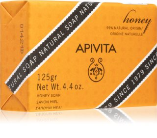 Apivita Natural Soap Honey savon nettoyant solide