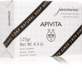 Apivita Natural Soap Jasmine čistilno trdo milo