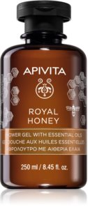 Apivita Royal Honey vlažilen gel za prhanje z eteričnimi olji