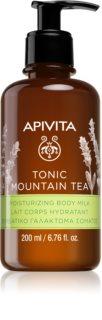 Apivita Tonic Mountain Tea nawilżające mleczko do ciała
