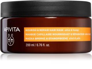 Apivita Holistic Hair Care Olive & Honey masque nourrissant cheveux