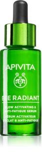Apivita Bee Radiant sérum iluminador hidratante anti-idade de pele