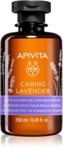 Apivita Caring Lavender Silkkinen Suihkugeeli Herkälle Iholle