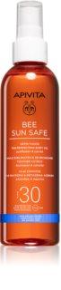 Apivita Bee Sun Safe λάδι μαυρίσματος SPF 30
