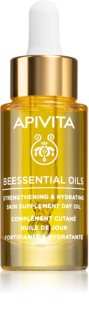 Apivita Beessential Oils озаряващо дневно олио за интензивна хидратация
