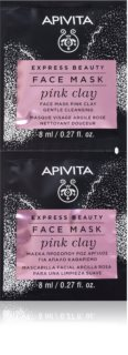 Apivita Express Beauty Pink Clay masque purifiant visage