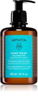 Apivita Hand Care Mild Hand Wash jabón líquido de manos con textura suave
