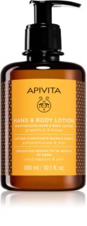 Apivita Hand Care Grapefruit & Honey hidratantna krema za ruke i tijelo