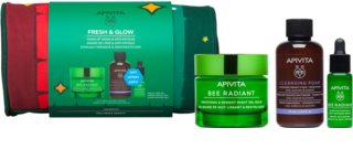 Apivita Bee Radiant Gift Set  (tegen tekenen van Huidveroudering )