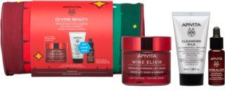 Apivita Wine Elixir Light Texture Gift Set  (tegen Rimpels )