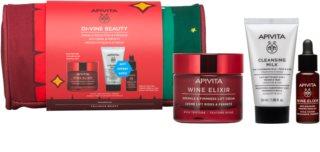 Apivita Wine Elixir Rich Texture Gift Set  (tegen Rimpels )