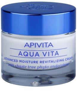 Apivita Aqua Vita εντατικά ενυδατική και αναζωογονητική κρέμα  για μικτή και λιπαρή επιδερμίδα
