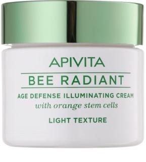 Apivita Bee Radiant Light Rejuvenating Cream with Brightening Effect