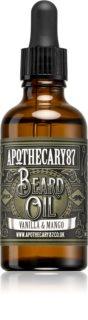 Apothecary 87 Vanilla & Mango óleo de cuidado para a barba