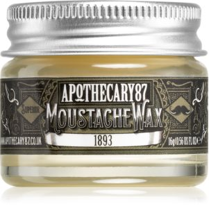 Apothecary 87 1893 cera para bigote
