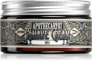 Apothecary 87 1893 crema de afeitar