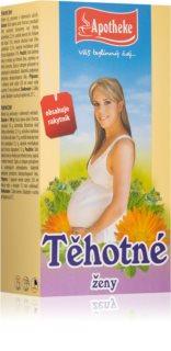 Apotheke Těhotné ženy čaj přirozená obranyschnopnost těla